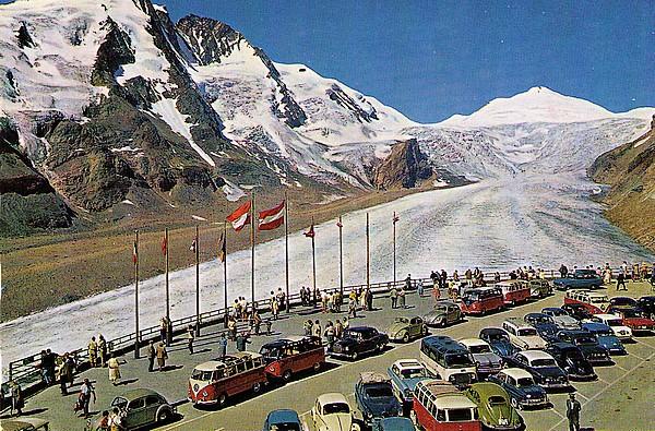 Großglockner Parkplatz Freiwandeck
