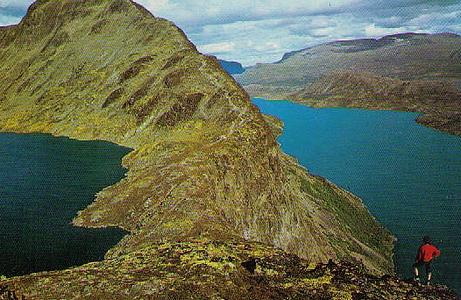 Norwegen Mount Besseggen